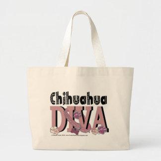 Chihuahua DIVA Canvas Bag