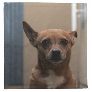 Chihuahua Dog 2 Printed Napkins