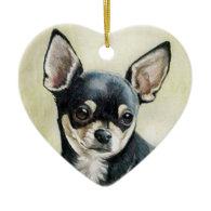 Chihuahua Dog Art Ornament