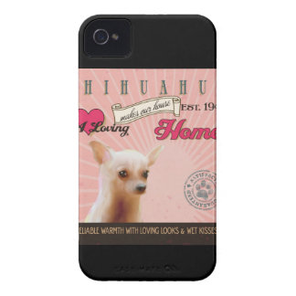Chihuahua Dog Art Poster- Makes Our House Home iPhone 4 Case-Mate Case