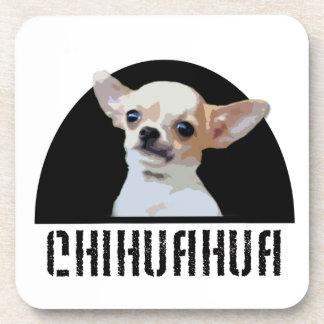 Chihuahua dog beverage coaster