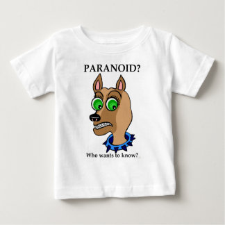 Chihuahua Dog Cartoon Head Baby T-Shirt