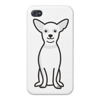 Chihuahua Dog Cartoon Covers For iPhone 4