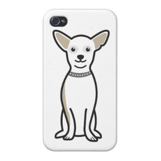 Chihuahua Dog Cartoon iPhone 4 Cases