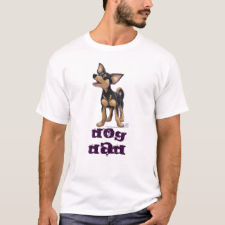 Chihuahua Dog Dad Heads and Tails T-Shirt