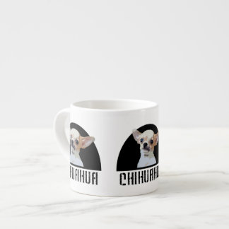 Chihuahua dog espresso cup