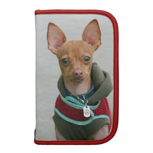 Chihuahua dog folio planners