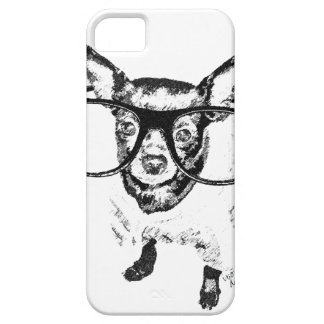 Chihuahua Dog Illustration Drawing iPhone SE/5/5s Case