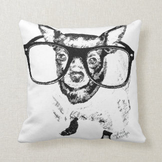 Chihuahua Dog Illustration Drawing Products Throw Pillow