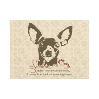 Chihuahua Dog My Sunshine Doormat