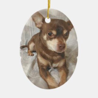 Chihuahua Dog Ornament