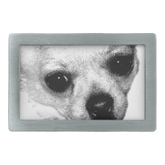 Chihuahua Dog Picture. Ay, Chihuahua! Belt Buckle
