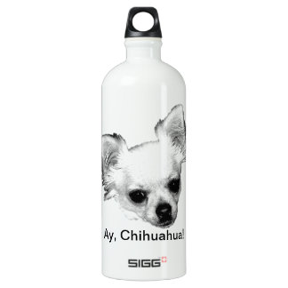 Chihuahua Dog Picture. Ay, Chihuahua! SIGG Traveler 1.0L Water Bottle