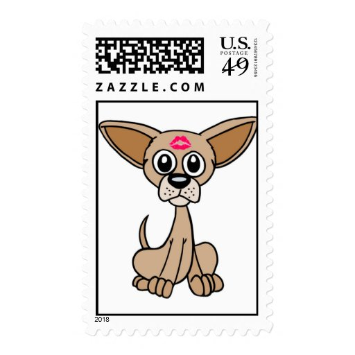 Chihuahua Dog Postage Stamps