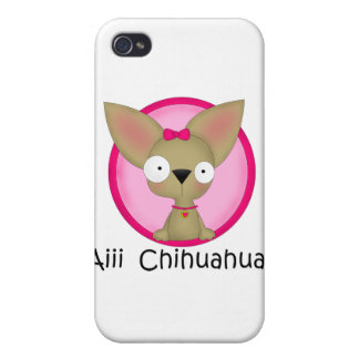 Chihuahua Dog Puppy iPhone 4 Case