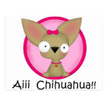 Chihuahua Dog Puppy Post Cards