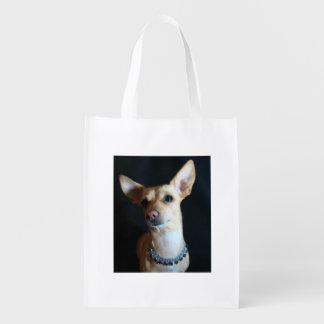 Chihuahua Dog Reusable Grocery Bag