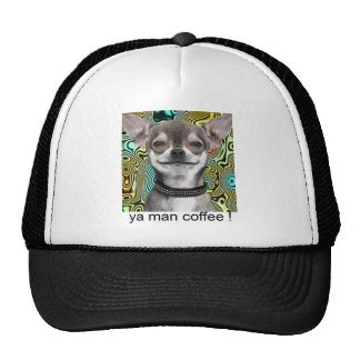 Chihuahua Dog Smiling for Coffee Trucker Hat