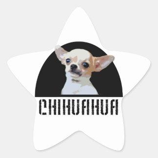 Chihuahua Dog Star Sticker