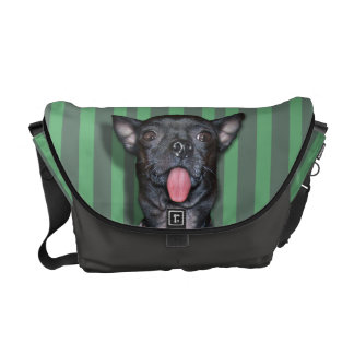 Chihuahua Dog Tongue Courier Bags
