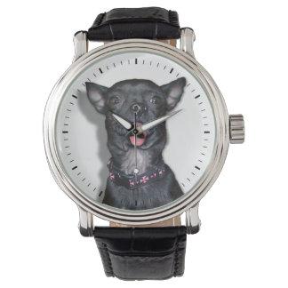 Chihuahua Dog Tongue Wrist Watch