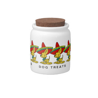 CHIHUAHUA DOG TREAT JAR CANDY JARS