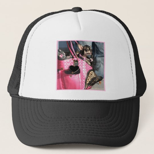 Chihuahua Dog Trucker Hat