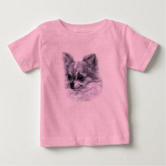 Chihuahua Drawing Baby T-Shirt