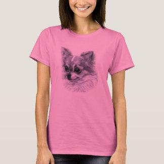 Chihuahua Drawing T-Shirt