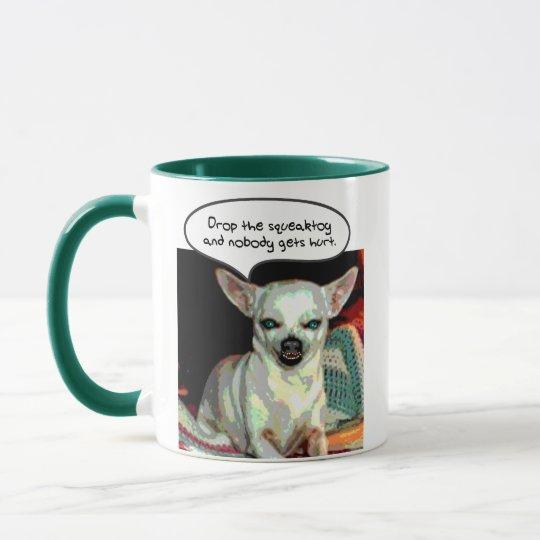 Chihuahua - Drop the Squeaktoy Mug