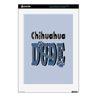 Chihuahua DUDE PS3 Console Decals