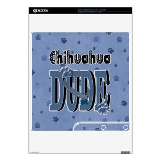 Chihuahua DUDE Skin For PS3 Slim