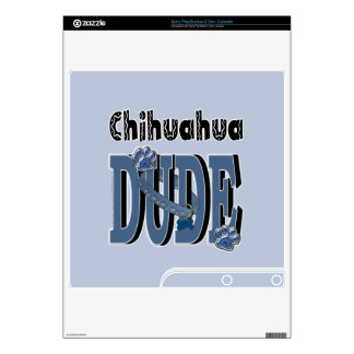 Chihuahua DUDE Skin For The PS3 Slim