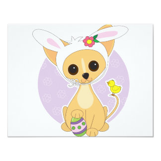 Chihuahua Easter 4.25x5.5 Paper Invitation Card