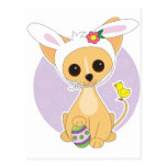Chihuahua Easter Postcard