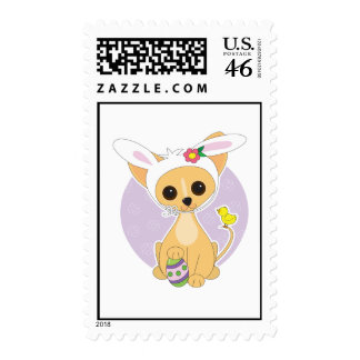 Chihuahua Easter Stamps