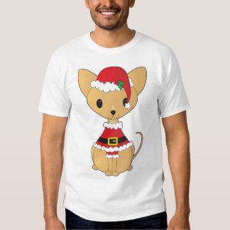 Chihuahua en el juego de Santa Playeras