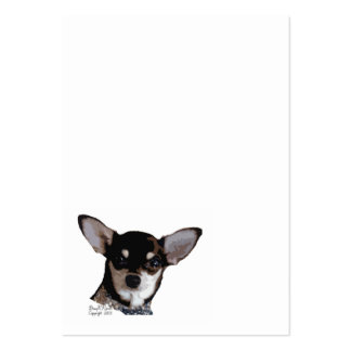 Chihuahua Face Business Card