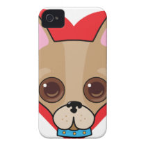Chihuahua Face iPhone 4 Cover