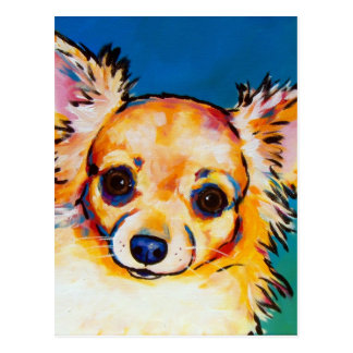Chihuahua Fawn LC Postcard