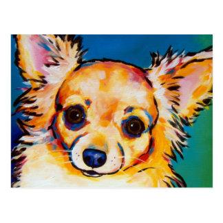 Chihuahua Fawn LC Postcard