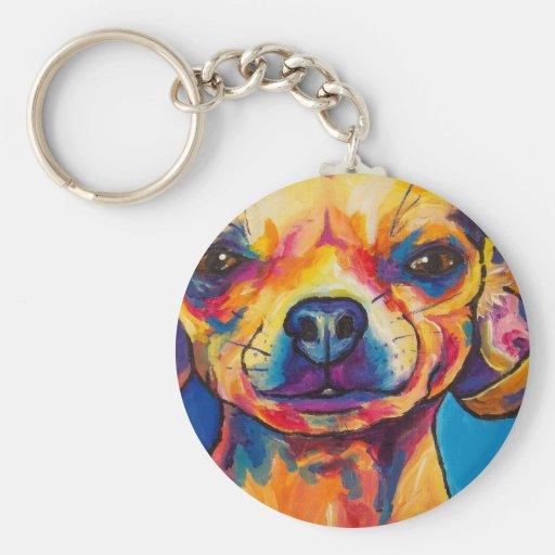 Chihuahua Fawn- Stoli Key Chain