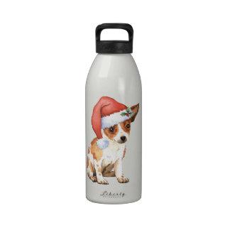 Chihuahua feliz de Howliday Botella De Agua