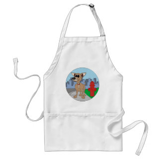 Chihuahua Fire Hydrant Adult Apron