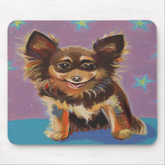 Chihuahua - fun colorful cute original painting mousepads