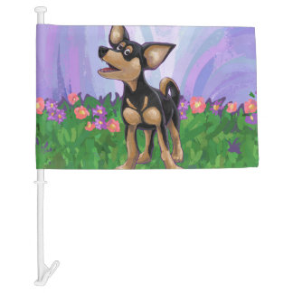 Chihuahua Gifts & Accessories Car Flag