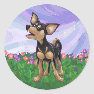 Chihuahua Gifts & Accessories Classic Round Sticker