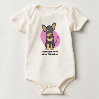 Chihuahua Gifts and Merchandise Baby Bodysuit