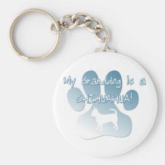 Chihuahua Granddog Key Chain