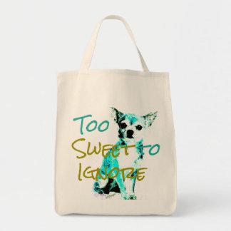 Chihuahua Grocery Bag